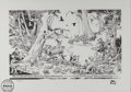 "Original Comic Art:Miscellaneous, Walt Kelly - ""Christmas Greetings"" Limited Edition Print #114/750(The Entertainment Art Company, undated)...."