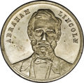 "U.S. Presidents & Statesmen, ""1861"" Lincoln Medal by Thomas Elder, Uncirculated Uncertified...."