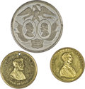 U.S. Presidents & Statesmen, Trio of Better Lincoln Medals.... (Total: 3 pieces)