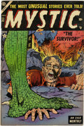 Golden Age (1938-1955):Horror, Mystic #32 (Atlas, 1954) Condition: FN....