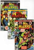 Bronze Age (1970-1979):Superhero, Ms. Marvel #1-23 Group (Marvel, 1977-79) Condition: Average VF/NM.... (Total: 44 Comic Books)