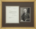 Autographs:U.S. Presidents, Franklin D. Roosevelt: Typed Letter Signed as President MentionsChurchill's Health.. -December 23, 1943. Washington, D.C. O...