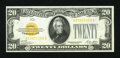 Small Size:Gold Certificates, Fr. 2402 $20 1928 Gold Certificate. Choice Crisp Uncirculated.. ...