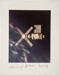 Autographs:Celebrities, Skylab 1 (SL-2) Crew-Signed Photo from the Personal Collection ofMission Pilot Paul Weitz. ...