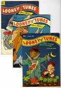 Golden Age (1938-1955):Cartoon Character, Looney Tunes and Merrie Melodies Comics Group (Dell, 1950s-60s) Condition: Average VG+.... (Total: 19 Comic Books)