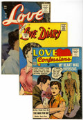 Golden Age (1938-1955):Romance, Miscellaneous Golden Age Romance Group (Various Publishers, 1950s)Condition: Average VF.... (Total: 11 Comic Books)