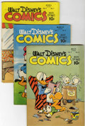 Golden Age (1938-1955):Cartoon Character, Walt Disney's Comics and Stories Group - Crowley Copy pedigree(Dell, 1946-47) Condition: Average VG.... (Total: 9 Comic Books)