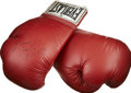 Boxing Collectibles:Autographs, Evander Holyfield Signed Boxing Glove....