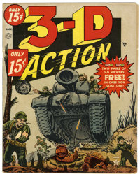 3-D Action #1 (Atlas, 1954) Condition: FN