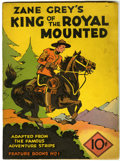 Platinum Age (1897-1937):Miscellaneous, Feature Books #1 King of the Royal Mounted (David McKay, 1937)Condition: Apparent VG....