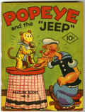 "Platinum Age (1897-1937):Miscellaneous, Feature Books #3 Popeye and the ""Jeep"" (David McKay, 1937)Condition: FN...."