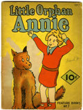 Golden Age (1938-1955):Humor, Feature Books #7 Little Orphan Annie (David McKay, 1937) Condition: GD+....