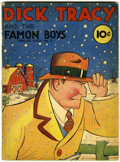 Golden Age (1938-1955):Crime, Feature Books #9 Dick Tracy (David McKay, 1938) Condition: Apparent VG....