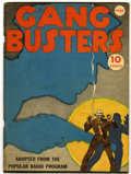 Golden Age (1938-1955):Crime, Feature Books #17 Gang Busters (David McKay, 1938) Condition: VF-....