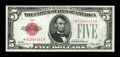 Small Size:Legal Tender Notes, Fr. 1525* $5 1928 Legal Tender Note. Choice Crisp Uncirculated.. ...