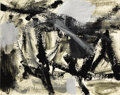 Fine Art - Work on Paper:Drawing, ELAINE DE KOONING (American, 1919-1989). Abstract. Mixedmedia on paper. 10-1/4 x 13-1/4 inches (26.0 x 33.7 cm). Initia...