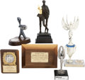 Movie/TV Memorabilia:Awards, Glenn Ford's Assorted Trophies.... (Total: 6 Items)