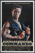 """Movie Posters:Action, Commando (20th Century Fox, 1985). One Sheet (27"""" X 41"""").Action...."""