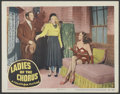 """Movie Posters:Comedy, Ladies of the Chorus (Columbia, 1948). Lobby Card (11"""" X 14""""). Comedy.. ..."""