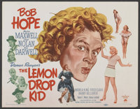 "The Lemon Drop Kid (Paramount, 1951). Title Lobby Card (11"" X 14""). Comedy"