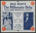 "Movie Posters:Drama, The Millionaire Baby (V-L-S-E, 1915). Herald (8"" X 8.75"").Drama...."