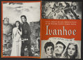 "Movie Posters:Adventure, Ivanhoe (MGM, 1952). Program (Multiple Pages, 7"" X 9.25"").Adventure...."