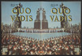 "Movie Posters:Historical Drama, Quo Vadis (MGM, 1951). Program (9"" X 12"") (Multiple Pages).Historical Drama...."