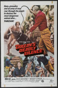 "Movie Posters:Adventure, Tarzan's Deadly Silence (National General, 1970). One Sheet (27"" X41""). Adventure...."