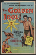 "Movie Posters:Adventure, The Golden Idol (Allied Artists, 1954). One Sheet (27"" X 41"").Adventure...."