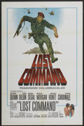 "Movie Posters:War, Lost Command (Columbia, 1966). One Sheet (27"" X 41""). War...."