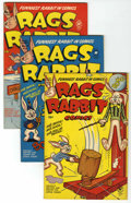 Golden Age (1938-1955):Funny Animal, Rags Rabbit Comics File Copy Group (Harvey, 1951-54) Condition:Average VF.... (Total: 7 Comic Books)