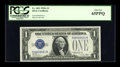 Small Size:Silver Certificates, Fr. 1601 $1 1928A Silver Certificate. PCGS Gem New 65PPQ.. ...