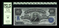 Large Size:Silver Certificates, Fr. 303 $10 1908 Silver Certificate PCGS Gem New 65....