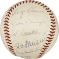 Autographs:Baseballs, 1961 St. Louis Cardinals Team Signed Baseball....