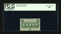 Fractional Currency:First Issue, Fr. 1311 50c First Issue PCGS Choice About New 55....