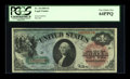 Large Size:Legal Tender Notes, Fr. 18 $1 1869 Legal Tender PCGS Very Choice New 64PPQ....