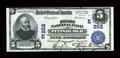 National Bank Notes:Pennsylvania, Pittsburgh, PA - $5 1902 Plain Back Fr. 606 The First NB Ch. # (E)252. ...