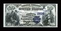 National Bank Notes:Pennsylvania, Pittsburgh, PA - $20 1882 Date Back Fr. 552 The Diamond NB Ch. # (E)2236. ...