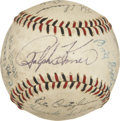 Autographs:Baseballs, 1950 Pittsburgh Pirates Team Signed Baseball....