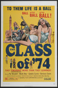 "Movie Posters:Bad Girl, The Class of '74 (General Film, 1972). One Sheet (27"" X 41""). BadGirl...."