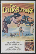 "Movie Posters:Adventure, The Little Savage (20th Century Fox, 1959). One Sheet (27"" X 41"")and Lobby Card Set of 8 (11"" X 14""). Adventure.... (Total: 9 Items)"