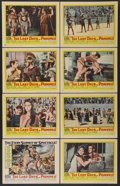 """Movie Posters:Adventure, The Last Days of Pompeii (United Artists, 1960). Lobby Card Set of8 (11"""" X 14""""). Adventure.... (Total: 8 Items)"""
