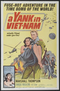 """Movie Posters:War, A Yank in Viet-Nam (Allied Artists, 1964). One Sheet (27"""" X 41"""")and Lobby Card Set of 8 (11"""" X 14""""). War.... (Total: 9 Items)"""