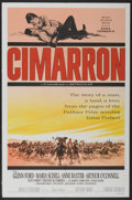 "Movie Posters:Western, Cimarron (MGM, 1960). One Sheet (27"" X 41"") Style B. Western...."