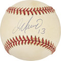 Autographs:Baseballs, Dan Marino Single Signed Baseball....