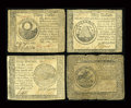 Colonial Notes:Mixed Colonies, Four Colonials.. ... (Total: 4 notes)
