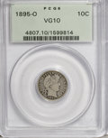 Barber Dimes: , 1895-O 10C VG10 PCGS. PCGS Population (17/137). NGC Census: (7/89). Mintage: 440,000. Numismedia Wsl. Price for NGC/PCGS co...
