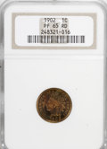Proof Indian Cents: , 1902 1C PR65 Red NGC. NGC Census: (26/24). PCGS Population (51/35). Mintage: 2,018. Numismedia Wsl. Price for NGC/PCGS coin...