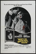 "Movie Posters:Horror, What's the Matter with Helen? (United Artists, 1971). One Sheet (27"" X 41""). Horror...."