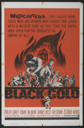 "Movie Posters:Adventure, Black Gold (Warner Brothers, 1962). One Sheet (27"" X 41"").Adventure...."